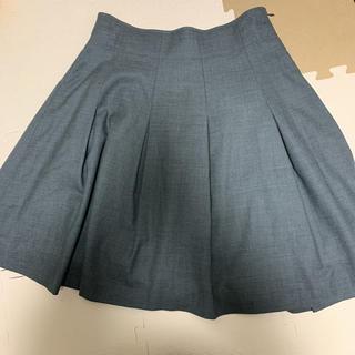 フランシュリッペ(franche lippee)のフランシュリッペブラック fl5  大きいサイズ 膝丈スカート(ひざ丈スカート)