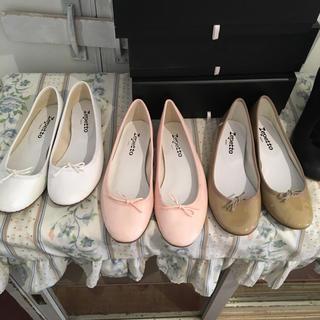 repetto - 最終価格💛repetto ballet shoes 38 (beige).