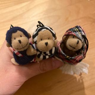 ユナイテッドアローズ(UNITED ARROWS)の【5つセット】ユナイテッドアローズ  ストラップ 人形 キーホルダー サル(キーホルダー)
