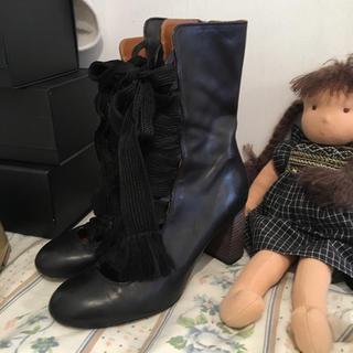 クロエ(Chloe)のChloé  lace up boots.(ブーツ)
