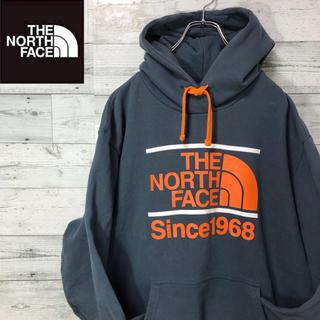 THE NORTH FACE - ザノースフェイス☆オーバーサイズ デカロゴ スウェット パーカー フーディ