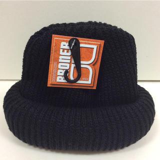 ブローナー アクリルワッチ ニット帽 黒 新品(ニット帽/ビーニー)