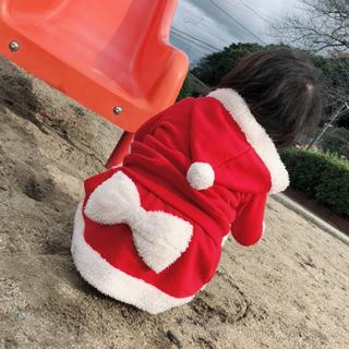 ANAP Kids - ANAP サンタ コスプレ クリスマス スカート 裏起毛 80