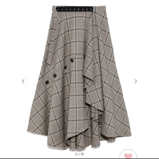 FRAY I.D - 【完売】フレイアイディー チェックツイードスカート