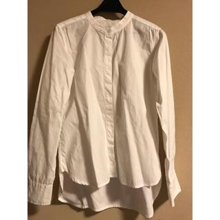 MUJI (無印良品) - ノーカラーシャツ