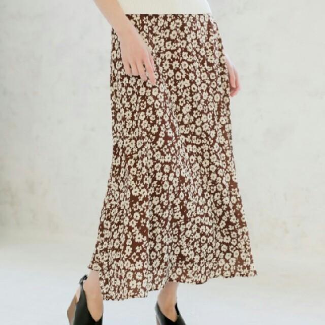 LOWRYS FARM(ローリーズファーム)の《美品》LOWRYS FARM☆ハナクルミボタンAラインスカート レディースのスカート(ロングスカート)の商品写真