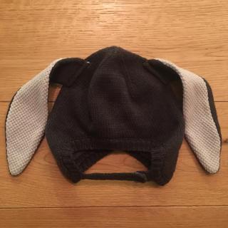 エイチアンドエム(H&M)のうさ耳 ニット帽☆h&m(帽子)