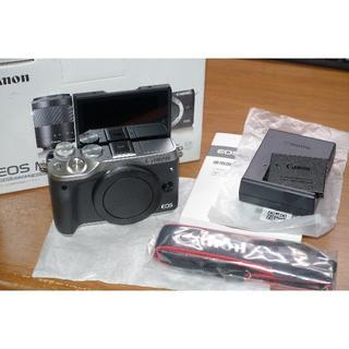 Canon - 【美品】EOS M6 シルバー
