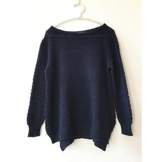 MACPHEE - MACPHEE マカフィー ざっくり編み ニット セーター レディース コットン