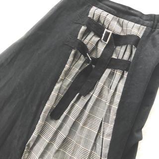 MURUA - MURUA サイドベルトフレアマキシスカート
