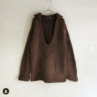 TODAYFUL - sheep vintage knit paja shirt