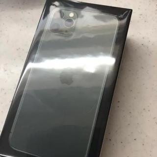 iPhone - iPhone 11 ProMax256GB ミッドナイトグリーン