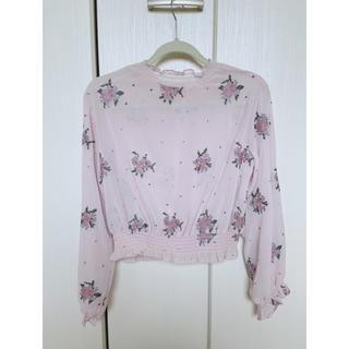 ダブルクローゼット(w closet)のシャツ ブラウス ダブルクローゼット(シャツ/ブラウス(長袖/七分))
