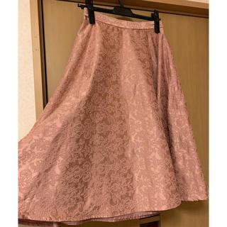 アクシーズファム(axes femme)のアクシーズ 上品スカート(ひざ丈スカート)