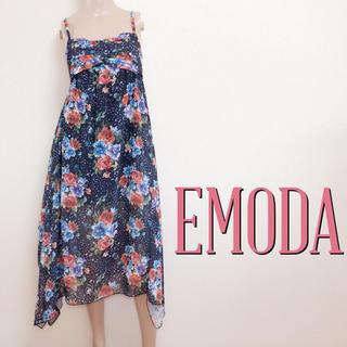 エモダ(EMODA)のもて服♪エモダ フェミニンロングワンピース♡ザラ ムルーア (ロングワンピース/マキシワンピース)