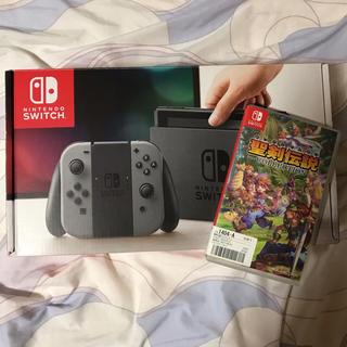 Nintendo Switch - 任天堂 スイッチ 本体 カセット付き