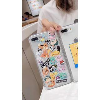 ポケモン(ポケモン)のiPhone7 iPhone8 iPhoneケース(iPhoneケース)