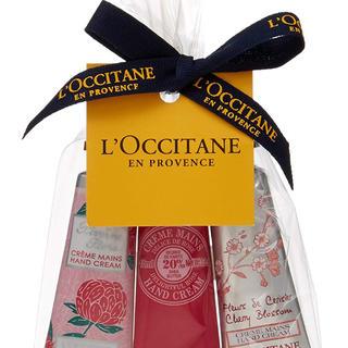 L'OCCITANE - ロクシタン フラワーミニハンドクリーム トリオ