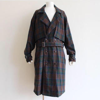 Jieda - jieda PLAID TRENCH COAT 2トレンチコート ジエダ