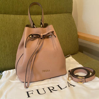 Furla - フルラ 巾着 2way ハンドバッグ ショルダーバッグ