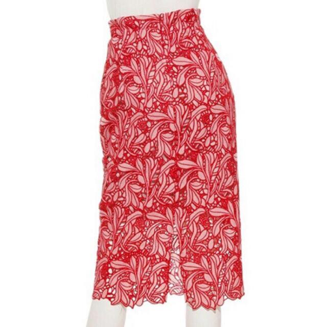 snidel(スナイデル)の大人気即完売 SNIDEL💚レースタイトスカート  レディースのスカート(ひざ丈スカート)の商品写真
