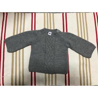 プチバトー(PETIT BATEAU)のプチバトー セーター 2歳/86cm(ニット/セーター)