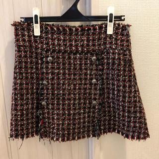 ZARA - ZARA/ツイードスカート