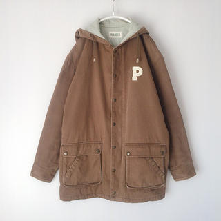 PINK HOUSE - used 古着 レトロ PINK HOUSE ピンクハウス モッズコート中綿