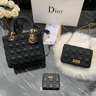 Dior - DIOR ハンドバッグ ショルダーバッグ 財布 長財布 3点セット