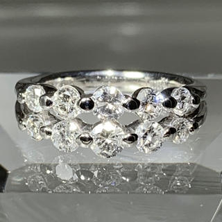 エタニティリング ダイヤモンド 1カラット プラチナ ダイヤモンドリング