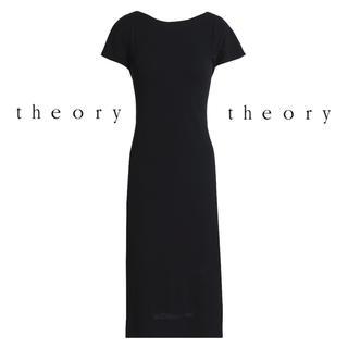 セオリー(theory)の※新品※67%OFF! Theory セオリー ブラック ワンピース ドレス(ひざ丈ワンピース)
