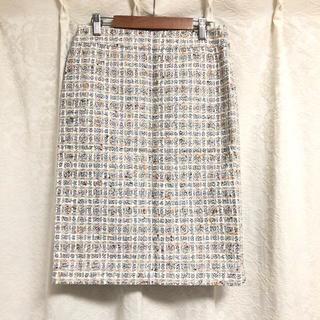 23区 - 新品【23区】LINTON ツイード スカート