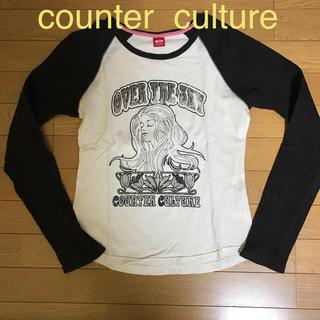 カウンターカルチャー(Counter Culture)のLサイズ Tシャツ カウンターカルチャー ラグラン袖(Tシャツ(長袖/七分))