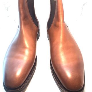 リーガル(REGAL)のイングランド製 REGAL リーガル サイドゴアブーツ  茶色 uk7(ブーツ)