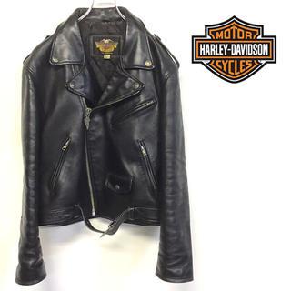 Harley Davidson - 美品 HARLEY DAVIDSON 本革 レザー ライダースジャケット