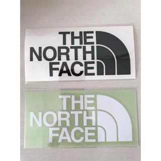 ザノースフェイス(THE NORTH FACE)のザノースフェイス ステッカー 白黒1枚(ステッカー)