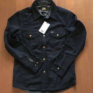 リー(Lee)のLEE リー メルトンシャツジャケット 新品(カバーオール)