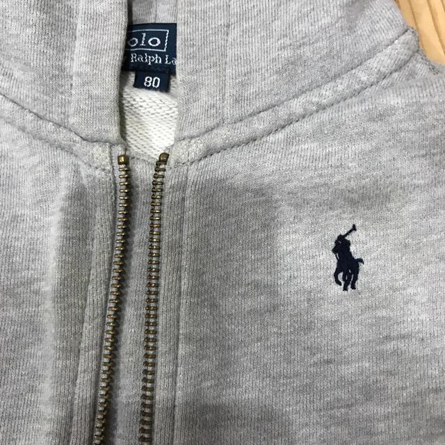 Ralph Lauren(ラルフローレン)のラルフ パーカー80 キッズ/ベビー/マタニティのベビー服(~85cm)(カーディガン/ボレロ)の商品写真