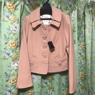 ウィルセレクション(WILLSELECTION)の新品未使用タグ付き☆ウィルセレクション メルトン ウールジャケット コート(ピーコート)