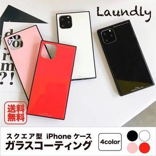 ミラー シンプル スクエア iPhone6 iPhone7 iPhone11ケー