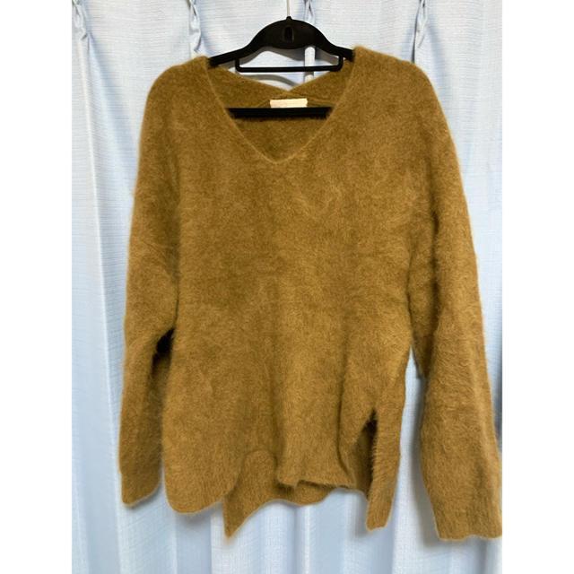 Plage(プラージュ)のPlage Fur V スリットプルオーバー レディースのトップス(ニット/セーター)の商品写真