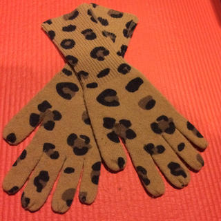 オープニングセレモニー(OPENING CEREMONY)のOPENING CEREMONY レオパードグローブ(手袋)