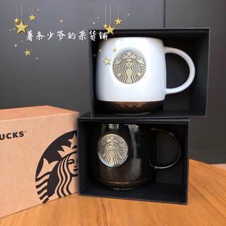 スターバックスコーヒー(Starbucks Coffee)のセット!ペア!箱入り プレゼント クリスマス マグカップ 台湾スターバックス (グラス/カップ)