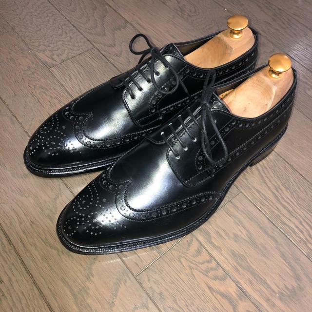 【ひろ様専用】レイマー 外羽根ウイングチップ メンズの靴/シューズ(ドレス/ビジネス)の商品写真