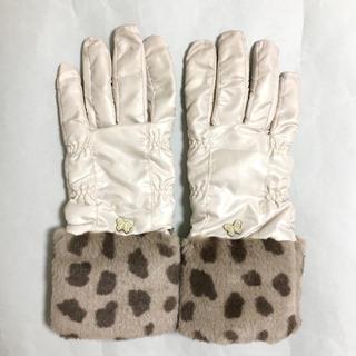 アナスイ(ANNA SUI)の【ANNA SUI アナスイ】手袋 ベージュ(手袋)