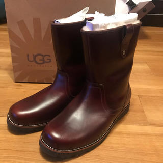 アグ(UGG)の新品未使用★UGG★メンズレザーブーツ★29cm(ブーツ)