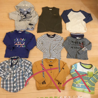 GAP - 男の子まとめトレーナーTシャツ GAPブリーズミキハウスラグマート110100