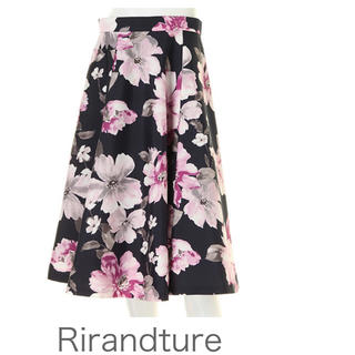 Rirandture - Rirandture 大花柄スカート