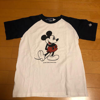 ミッキーマウス(ミッキーマウス)のミッキー Tシャツ 140cm(Tシャツ/カットソー)