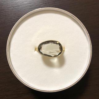 グリーンアメジストのリング インドジュエリー(リング(指輪))